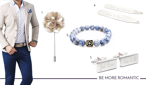 Impress your date with the right cufflinks and accessories