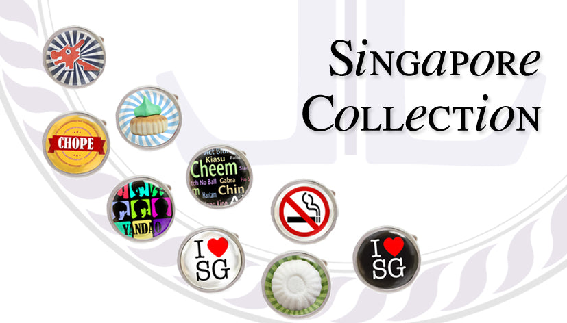 Singapore Cufflinks Collection
