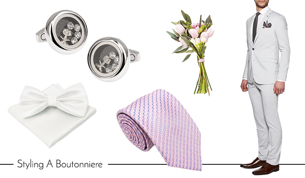 Men's Cufflinks and Accessories for Wedding