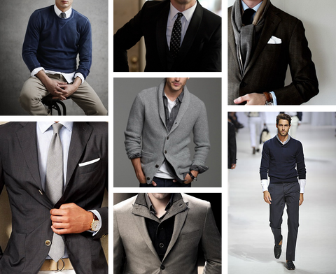 Genesis of a well dressed man