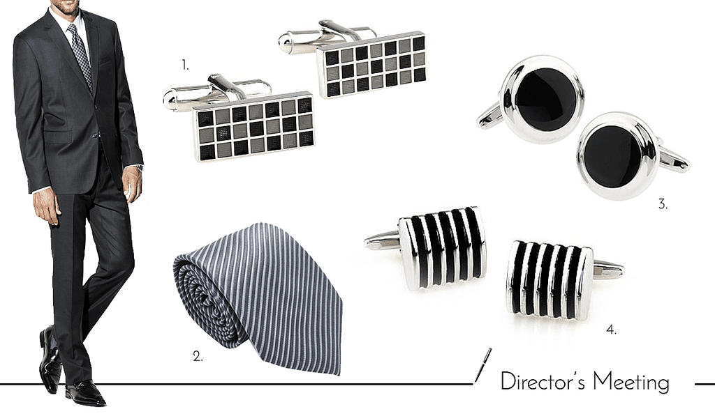 Mens Cufflinks and Accessories for Work