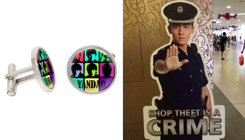 Singapore Cufflinks Collection - Yandao - Handsome