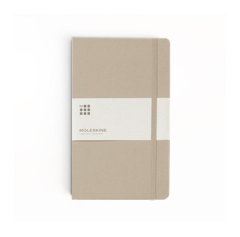 Moleskine Khaki Beige Soft Cover Notebooks