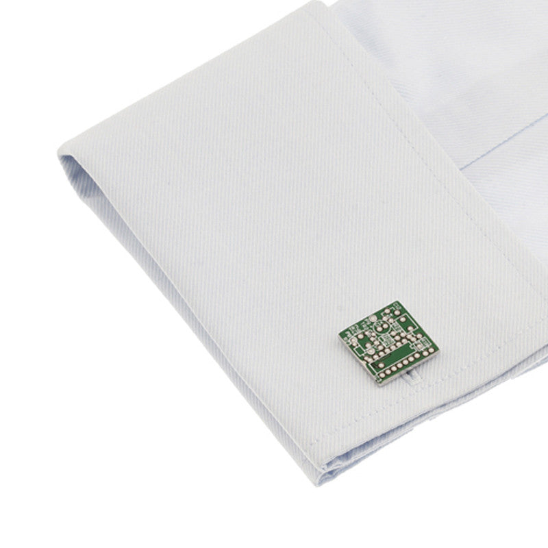 Classic Cufflinks - Microchip - The Little Link