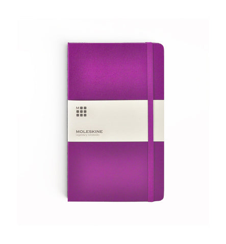 Moleskine Purple Soft Cover Notebooks