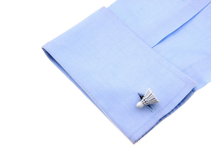 Novelty Cufflinks - Shuttlecock - The Little Link