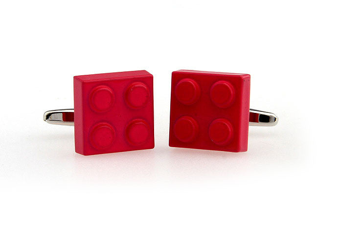 Novelty Cufflinks - Lego Brick - The Little Link