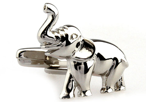 Silver Cartoon Cufflinks - Dumbo