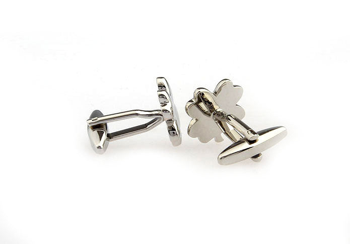 Novelty Cufflinks - Lucky Clover - The Little Link