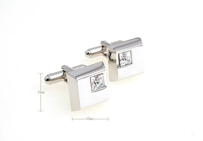 Classic Cufflinks - Crystalline - The Little Link