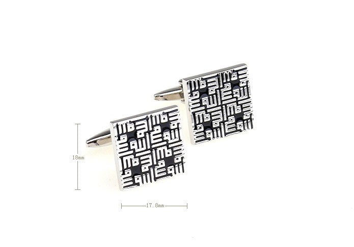 Novelty Cufflinks - Geek - The Little Link