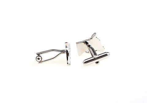 Silver Animal Cufflinks - Horsing Around