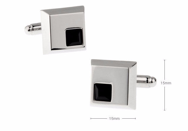 Classic Cufflinks - Ebony - The Little Link