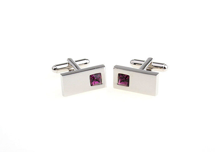 Classic Cufflinks - Red Bling - The Little Link
