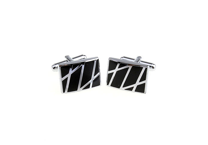 Classic Cufflinks - Zigzag - The Little Link