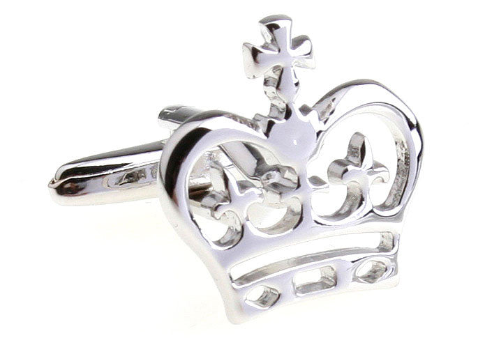 Silver Crown Novelty Cufflinks - The Little Prince
