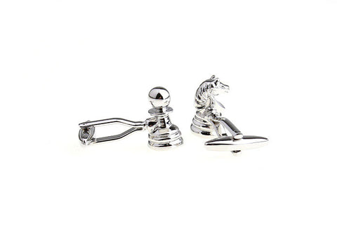 Novelty Cufflinks - Chess - The Little Link