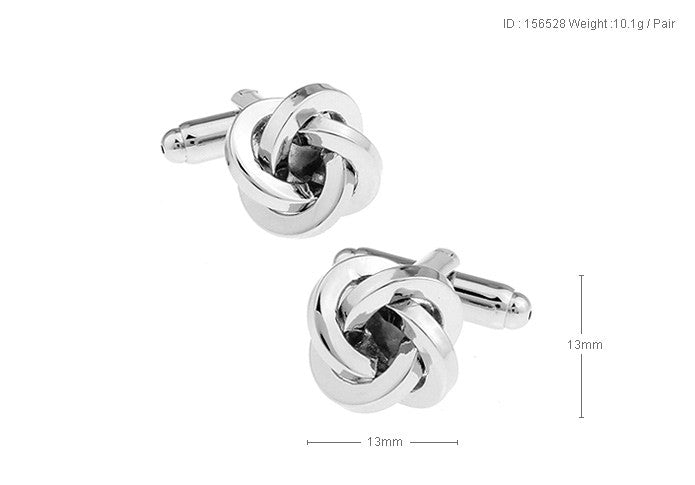 Classic Cufflinks - Classic Knot - The Little Link