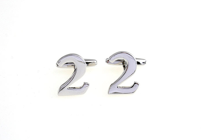 Novelty Cufflinks - Number 2 - The Little Link