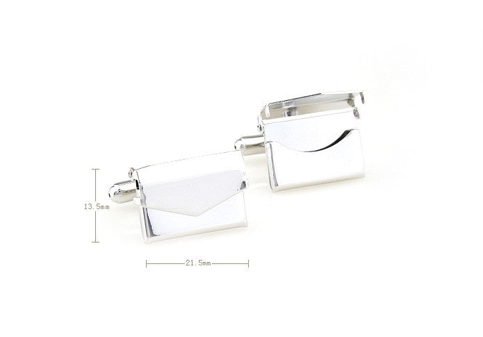 Classic Cufflinks - The Letter - The Little Link
