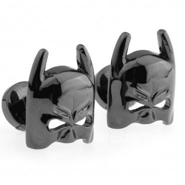 Black Superhero Cufflinks - Dark Knight
