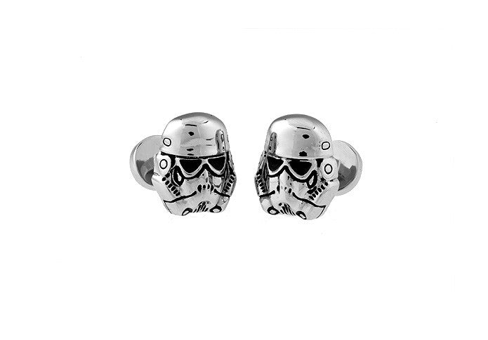 Novelty Cufflinks - Storm Trooper - The Little Link