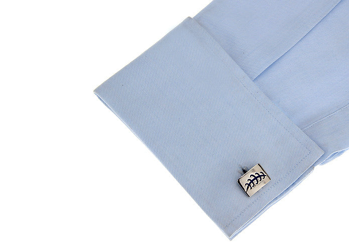 Classic Cufflinks - Leaves - The Little Link