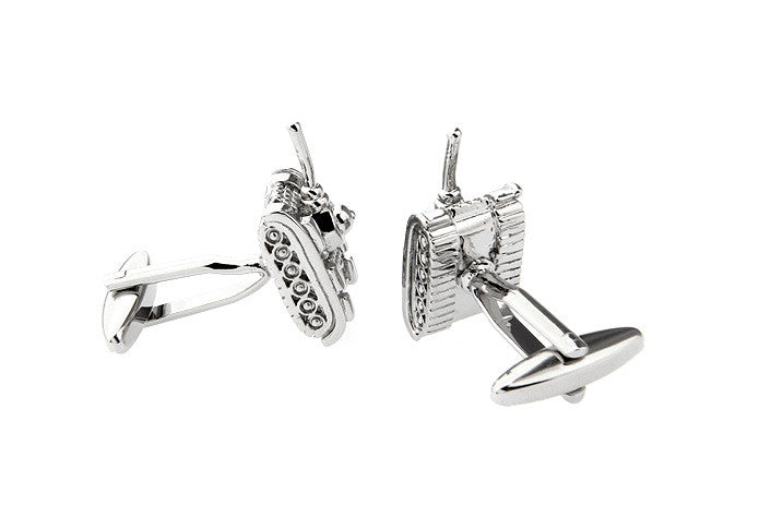 Novelty Cufflinks - Tank - The Little Link