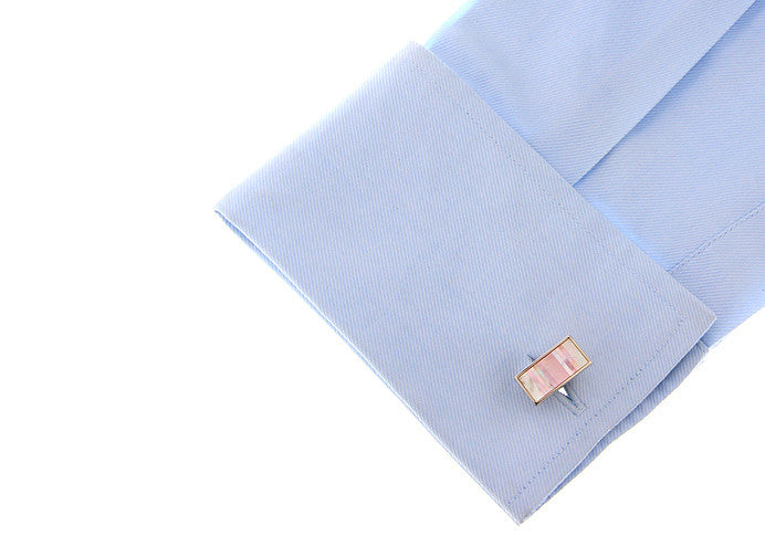 Classic Cufflinks - Mermaid's Scale - The Little Link