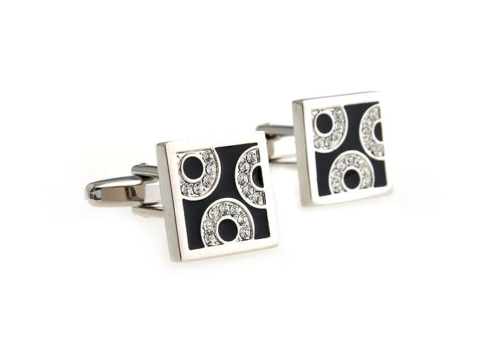 Novelty Cufflinks - Threesome - The Little Link