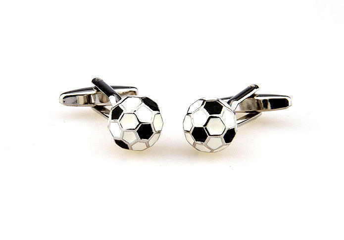 Novelty Cufflinks - The Ball is Round - The Little Link