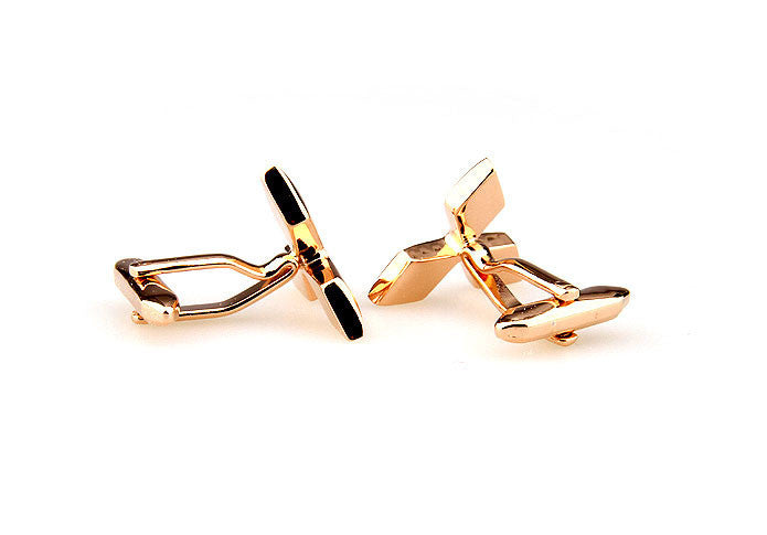 Novelty Cufflinks - Mitsubishi Logo - The Little Link