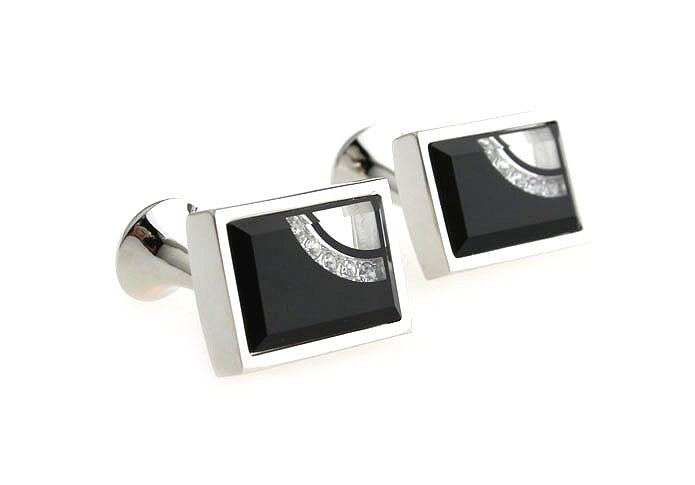 Classic Cufflinks - Crescent - The Little Link