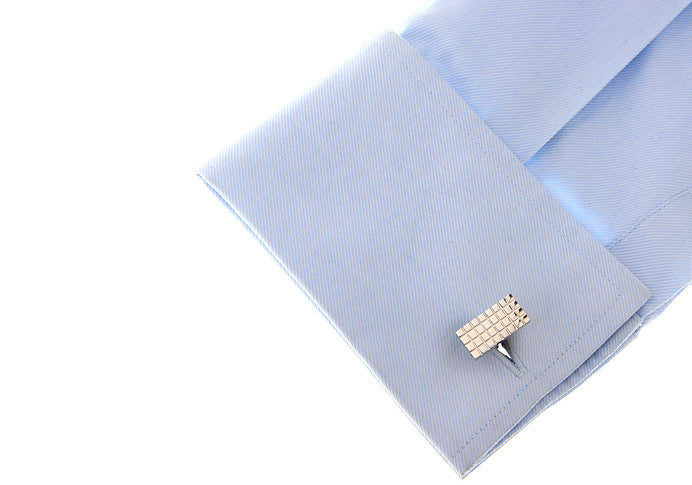 Classic Cufflinks - Chocolate Bar - The Little Link