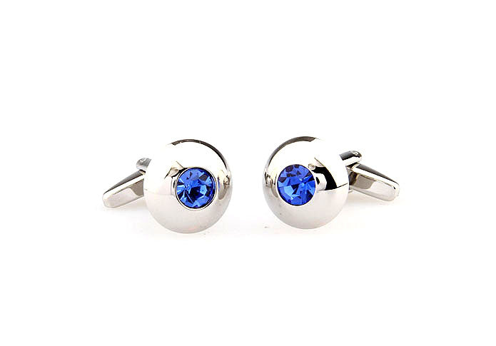 Classic Cufflinks - Blue Topaz - The Little Link