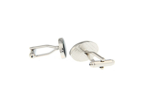 Novelty Cufflinks - Jaguar Logo - The Little Link
