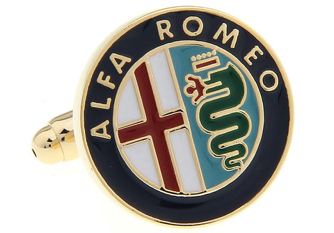 Novelty Cufflinks - Alfa Romeo - The Little Link