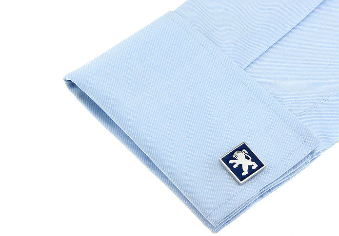 Novelty Cufflinks - Peugeot Logo - The Little Link