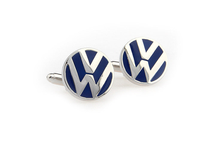 Novelty Cufflinks - Volkswagen Logo - The Little Link