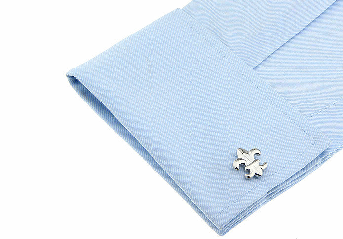 Novelty Cufflinks - Fleur-de-lis - The Little Link