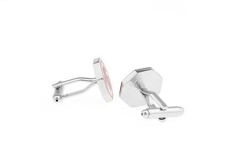 Novelty Cufflinks - MG Logo - The Little Link