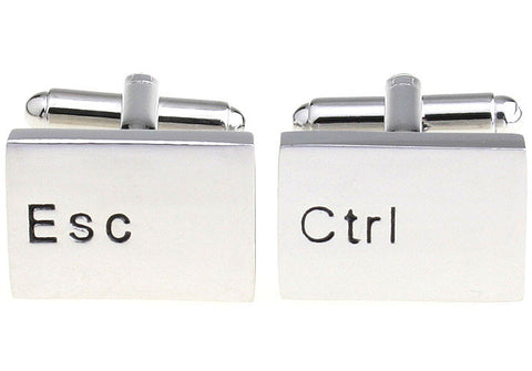 Novelty Cufflinks - Escape Control - The Little Link
