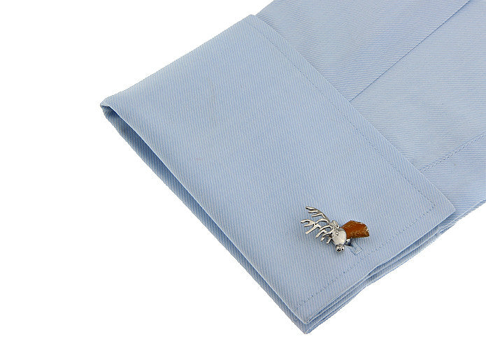 Novelty Cufflinks - Rudolf the Reindeer - The Little Link