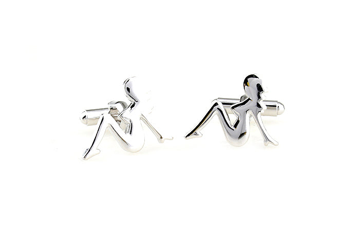 Novelty Cufflinks - Sexy Lady - The Little Link