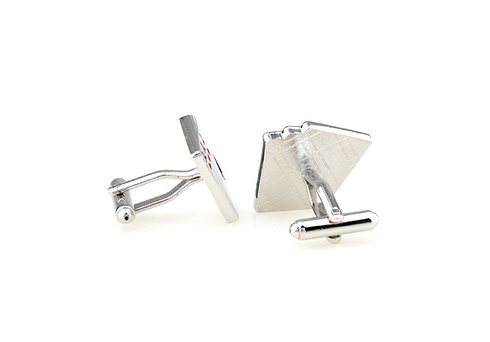 Novelty Cufflinks - Smoking Aces - The Little Link