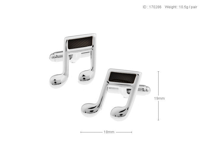 Novelty Cufflinks - Do Re Mi - The Little Link