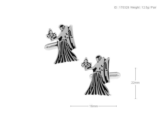 Novelty Cufflinks - Virgo - The Little Link