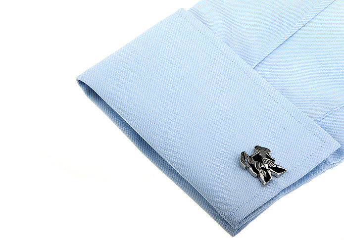 Novelty Cufflinks - Gemini - The Little Link