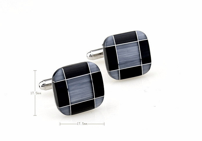 Classic Cufflinks - Tiled - The Little Link