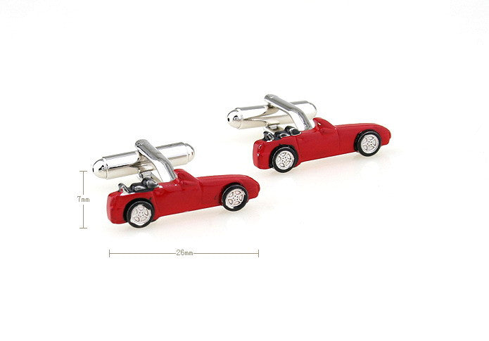 Novelty Cufflinks - Red Ride - The Little Link
